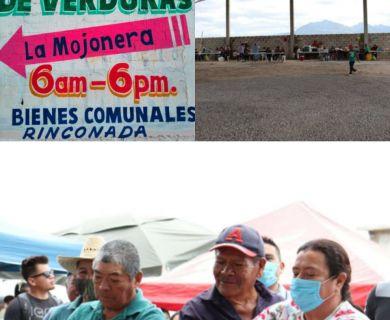 Inauguración tianguis la mojonera
