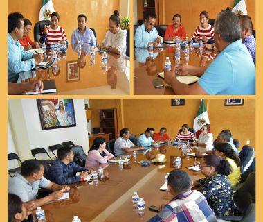 Reunión presidentes municipales