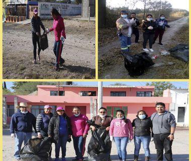 Tercera jornada de limpieza mientras mas contaminamos la tierra
