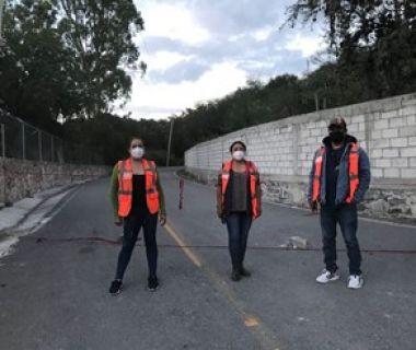 GUARDIAS NOCTURNAS EN ACCESOS AL RÍO TULA